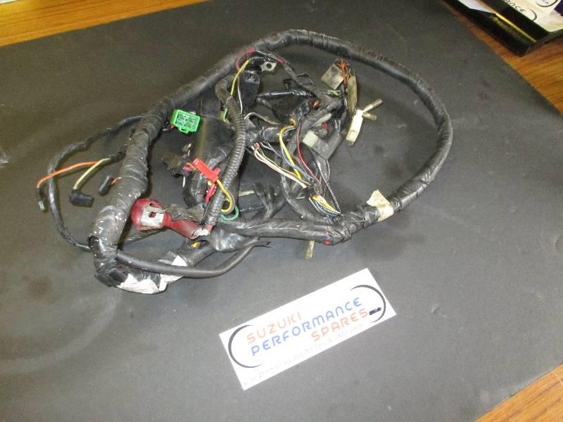 Suzuki gsxr750 wn wiring loom spare parts motorcycle online uk