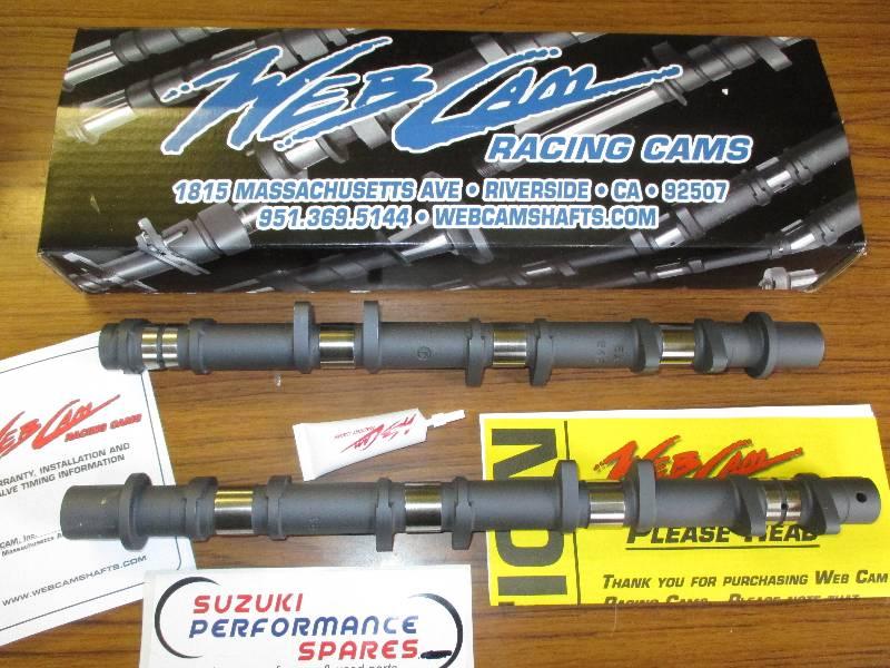 GSXR1300 99-07 onward Hayabusa Web Camshafts