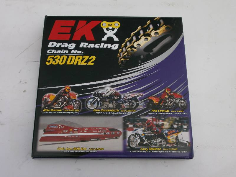 EK 530DRZ2 Drag Race Chain.170 link