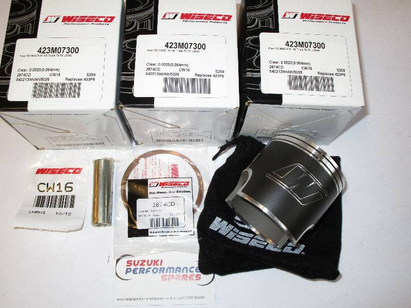 Wiseco Forged Pistons Kawasaki H2