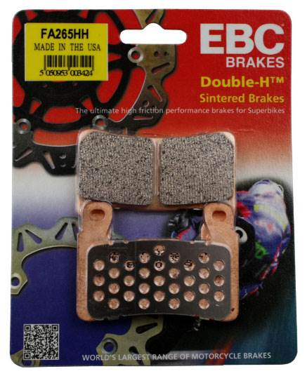 Honda CBR 900 RRY/RR1 Fireblade 00-01 EBC Brakes Double-H Sintered Brake Pads To Fit Front