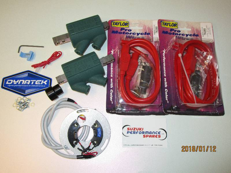 Dyna S,Dyna Coils,Taylor Leads,Package..
