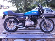 Suzuki GS1000 Breaking!