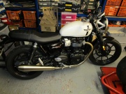 Triumph Twin Project Arrives!