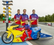 Star Racing debut Billet MonStar head in Sweden