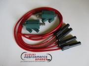 Kawasaki GPZ900 Dyna coils & red Taylor leads