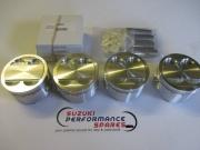 Suzuki GSXR1100 GSF1200 MTC Forged Piston Kit.