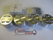 Suzuki GSXR1100 GSF1200 MTC Forged Piston Kit.