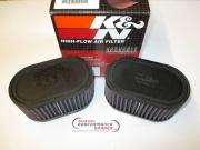 Suzuki GSXR1100 89 to 92 Dual Airfilters