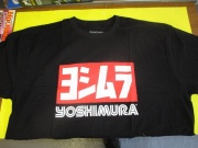 Yoshimura Black T Shirt XL