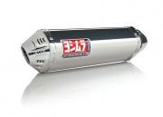 Suzuki GSXR 1000 (05-06) Yoshimura Stainless TRC Tri-Oval Slip On (Coned End Cap)