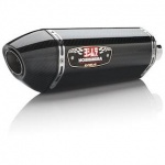 Suzuki GSXR 1000 (09-11) Yoshimura Carbon R77 Slip On Single With Carbon Coned End Cap RACE