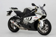BMW S1000R (14-16) Yoshimura Stainless Tri-Coned End Cap Road Legal Slip On