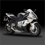 BMW S1000RR (10-14) Yoshimura Black Metal Magic Tri-Coned End Cap Road Legal Slip On