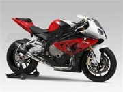 BMW S1000RR (10-14) Yoshimura Black Metal Magic R-11 Carbon Single Outlet Full System Road Legal