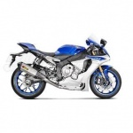 Yamaha YZF - R1 (15-16)  Akrapovic Titanium De-Cat Link Pipe - for use with Titanium Slip-on S-Y10SO14-HHX2T