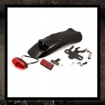 LSL Rear Fender Kit with Light & Bracket