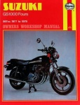 Suzuki GS1000 (77 - 79) Haynes Workshop Manual