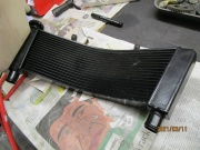 GSXR1000K5/6 Shortened Radiator
